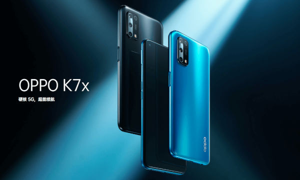 Oppo K7x launched