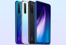 Redmi Note 8 in Colors