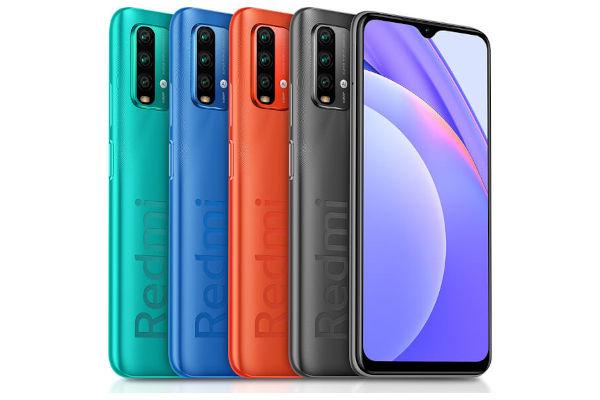 Redmi Note 9 4G in colors