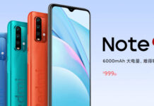 Redmi Note 9 4G launched