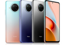 Redmi Note 9 Pro 5G in colors