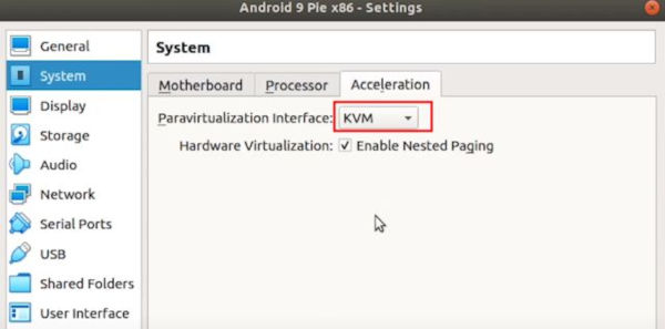 Run Android on Linux Using Virtual Machine 11