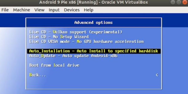 Run Android on Linux Using Virtual Machine 17
