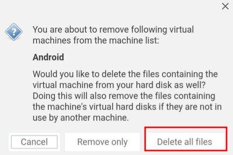 Run Android on Linux Using Virtual Machine 23