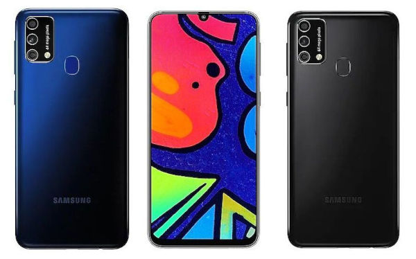 Samsung Galaxy M21s in colors