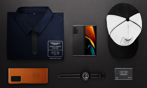 Samsung Galaxy Z Fold2 Aston Martin Limited Edition launched
