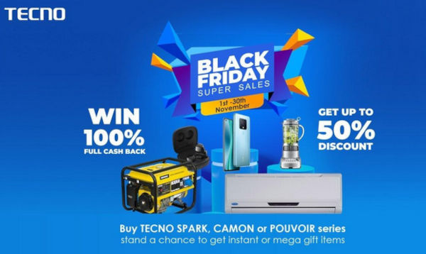 Tecno Black Friday 2020