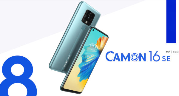 Tecno Camon 16 SE launched