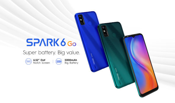 Tecno Spark 6 Go Launched