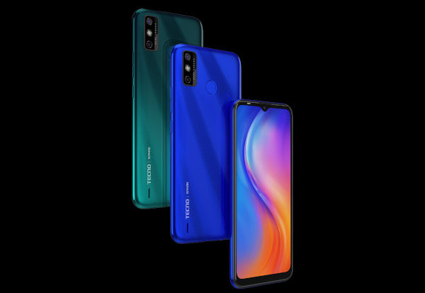 Tecno Spark 6 Go in colors