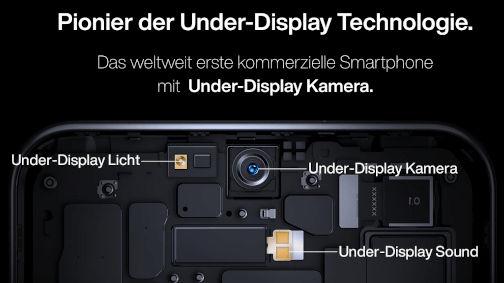 ZTE Axon 20 4G under-display camera