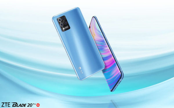 ZTE Blade 20 Pro 5G launched 1