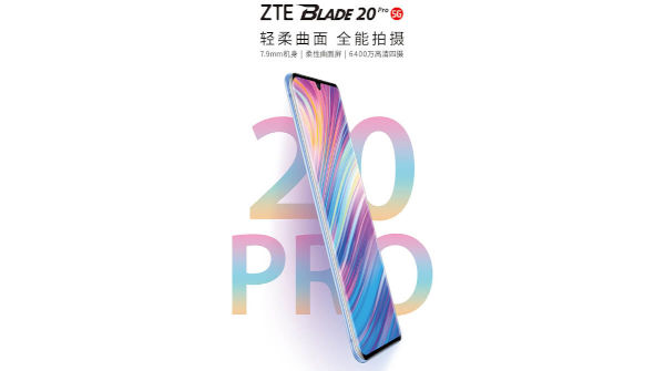 ZTE Blade 20 Pro 5G launched
