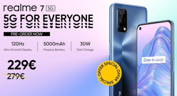realme 7 5G price