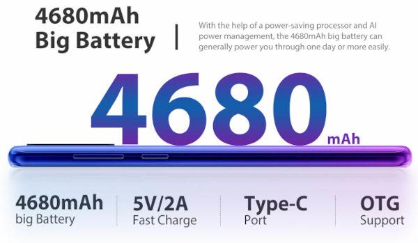 Blackview A80 Plus battery