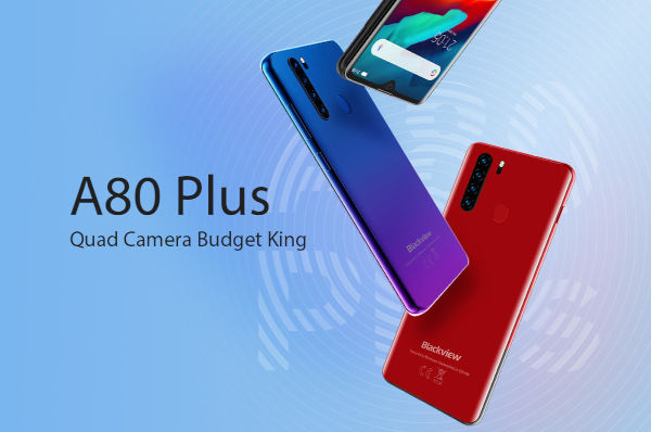 Blackview A80 Plus launched