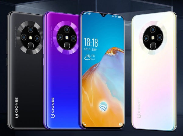 Gionee K30 Pro in colors