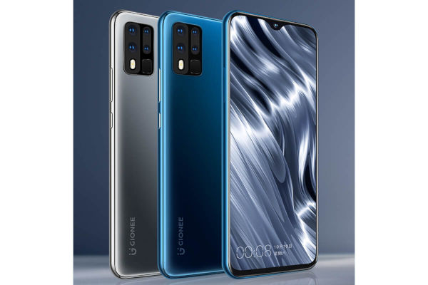 Gionee M40 Pro in colors