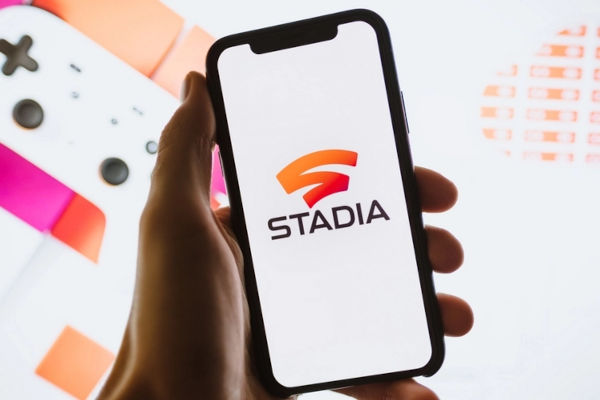 Google Stadia on iPhone