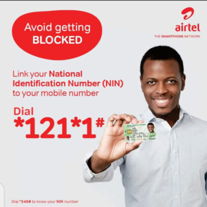 How To Link Your NIN to your Airtel Number 2