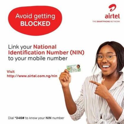 How To Link Your NIN to your Airtel Number