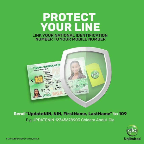 How To Link Your NIN to your Glo Number
