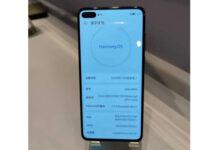 Huawei P40 running HarmonyOS 2.0