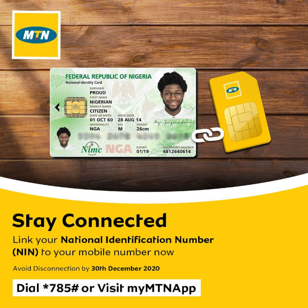 Link your MTN number with NIM 1