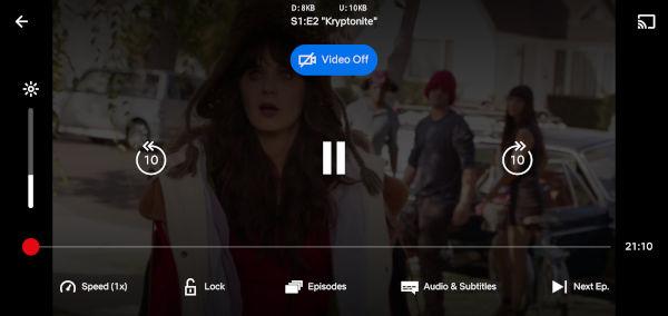 Netflix Audio Mode Only