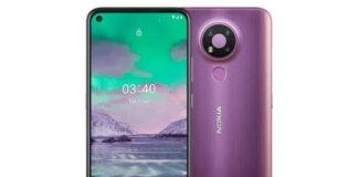 Nokia 5.4 render