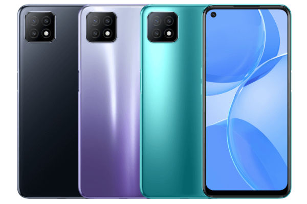 Oppo A53 5G in colors