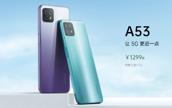 Oppo A53 5G launched