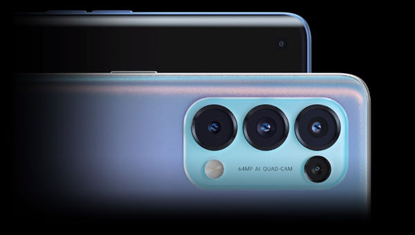 Oppo Reno5 5G camera