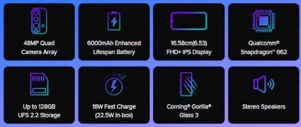 Redmi 9 Power Specs
