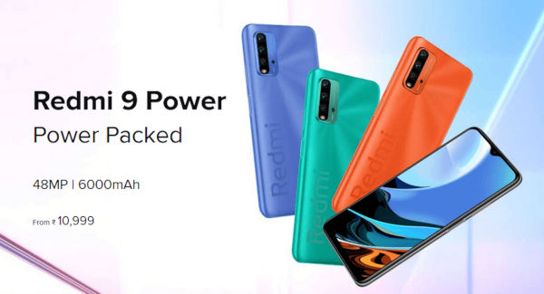 Redmi 9 Power launched with 6000mAh battery