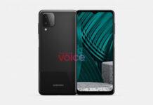 Samsung Galaxy m12 render