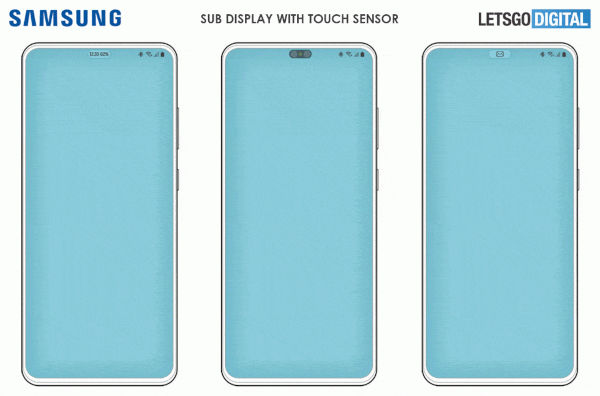 Samsung Working On A Smartphone With Hideable Front Camera 2