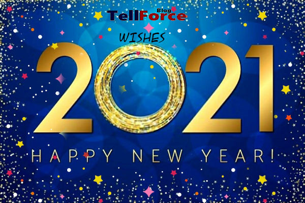 TellForce Blog Wishes You A Happy New Year 2021