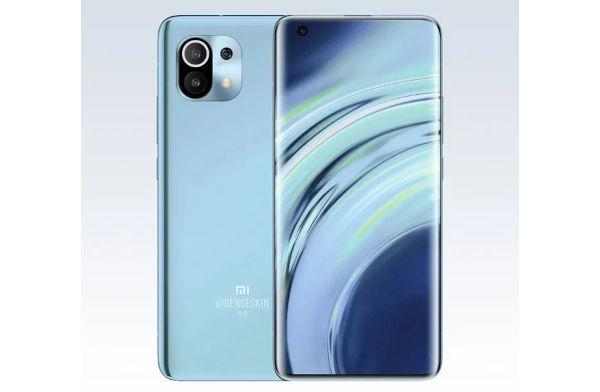 Xiaomi Mi 11 render