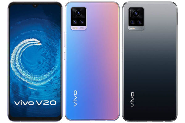 vivo V20 2021 in colors