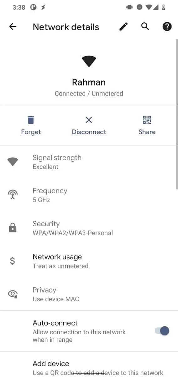 Android 12 To Let Users Share WI FI Password