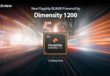 Blackview BL8000 With MediaTek Dimensity 1200 SoC