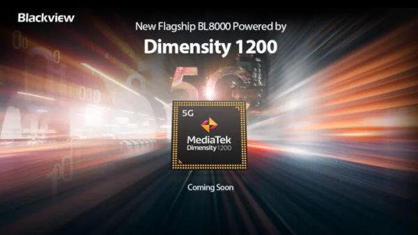 Blackview BL8000 With MediaTek Dimensity 1200 SoC