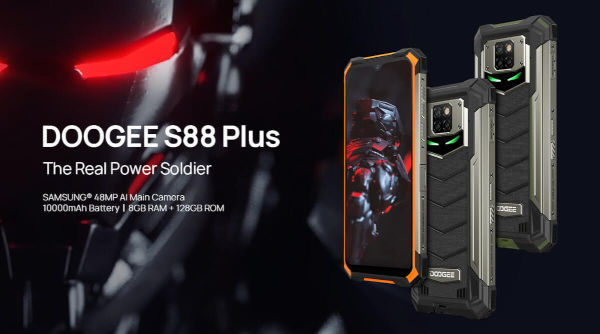 Doogee S88 Plus launched