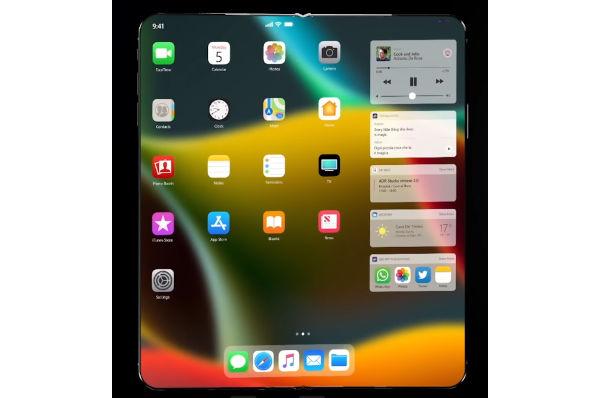 Foldable iPhone protoype