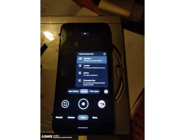 Google Pixel 5a live phone leaks online 2