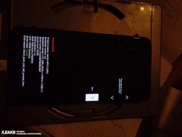 Google Pixel 5a live phone leaks online 3