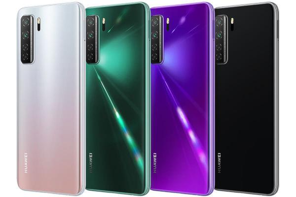 Huawei Nova 7 SE 5G LOHAS Edition in colors