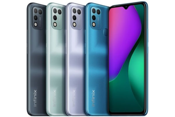 Infinix Hot 10 Play in colors