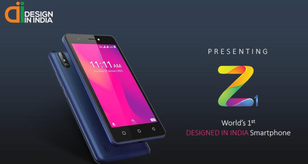 Lava Z1 launched